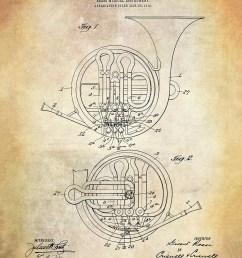 brass musical instrument patent art print french horn patent art print rossi brass musical instrument patent art print music patent [ 1000 x 1250 Pixel ]