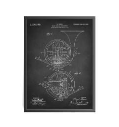 brass musical instrument patent art print french horn patent art print rossi brass musical instrument patent art print music patent [ 2200 x 2200 Pixel ]