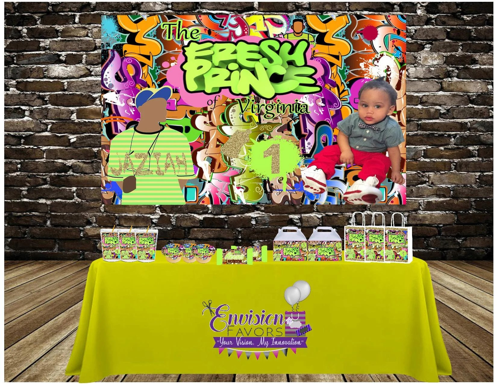 fresh prince party theme
