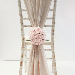 White Chair Sashes Daycare Table And Chairs For Sale Chiffon Sash Etsy 50 Wedding Decor Covers Chiavari Cover