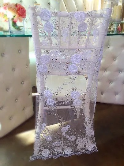 chair covers in bulk camping floor 50 lace wedding cover etsy embroidered bridal full length decor sale
