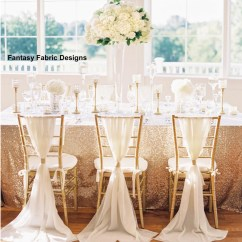 Chair Covers And Sashes For Sale Eames Amazon 50 Chiffon Sash Chiavari Cover With Rhinestone Ring 1