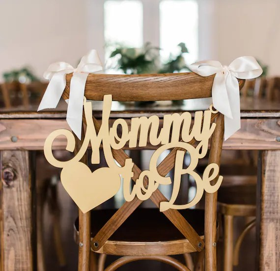 how to make a baby shower chair kidkraft farmhouse table and 4 set sign mommy be wooden cutout for etsy image 0