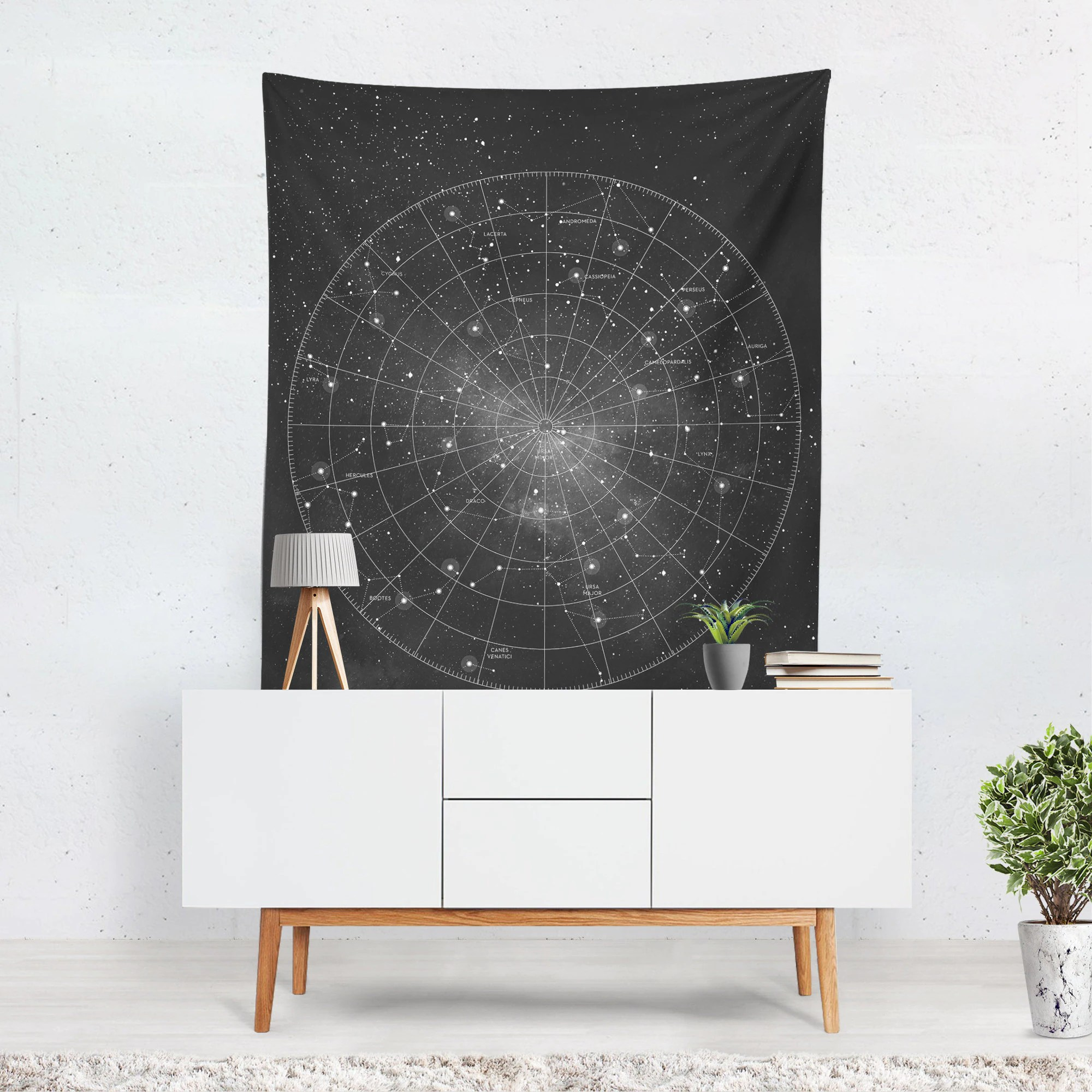 constellation wall tapestry wall