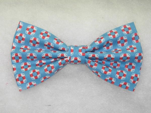 Mini Life Preservers Blue Pre-tied Bow Tie Ties