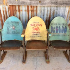 Antique Beach Chair Leap Office Chairs Sold Entryway Bench Coastal Furniture Nautical Etsy Image 0