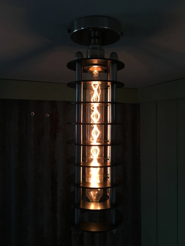 Handmade Deco-punk Ceiling Light Steampunk Pendant Lamp