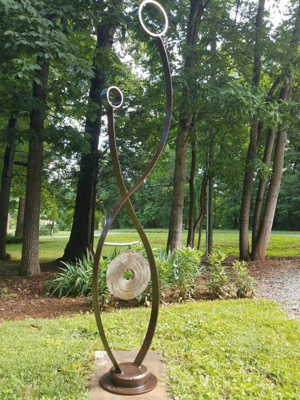Metal Sculpture-garden Art-abstract Sculpture-metal