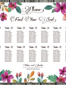 Image also sale wedding seating chart poster template printable etsy rh