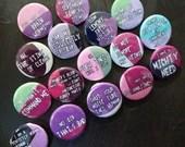 Invader Zim buttons [Zim ...