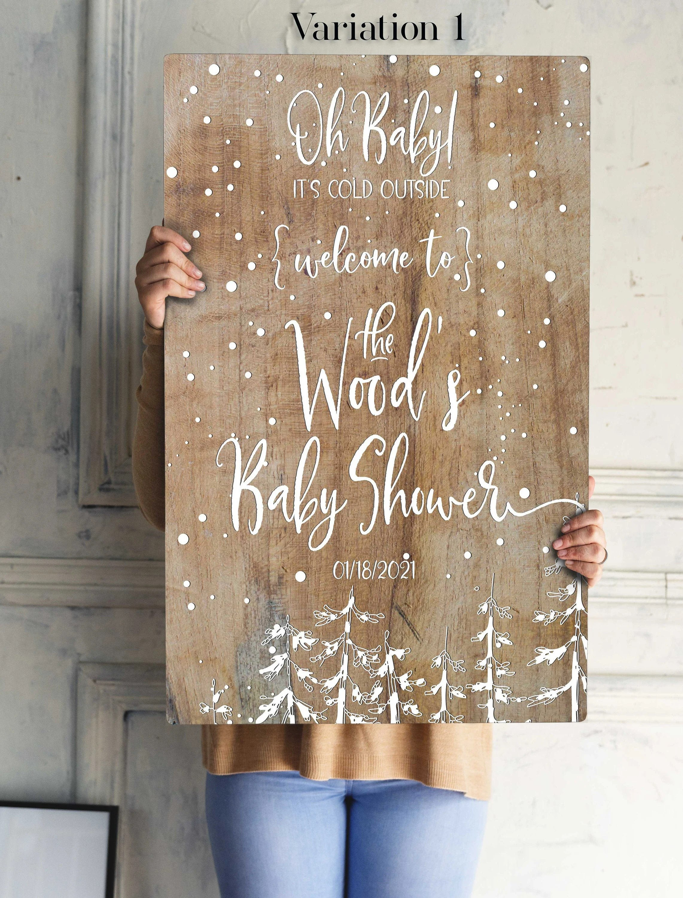 Amazon.com: baby shower welcome sign