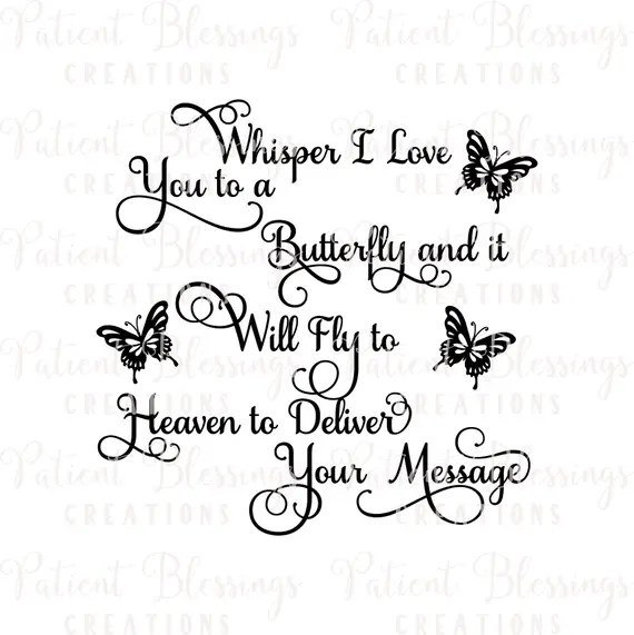 Download Whisper I Love you to a Butterfly and it Will Fly to ...