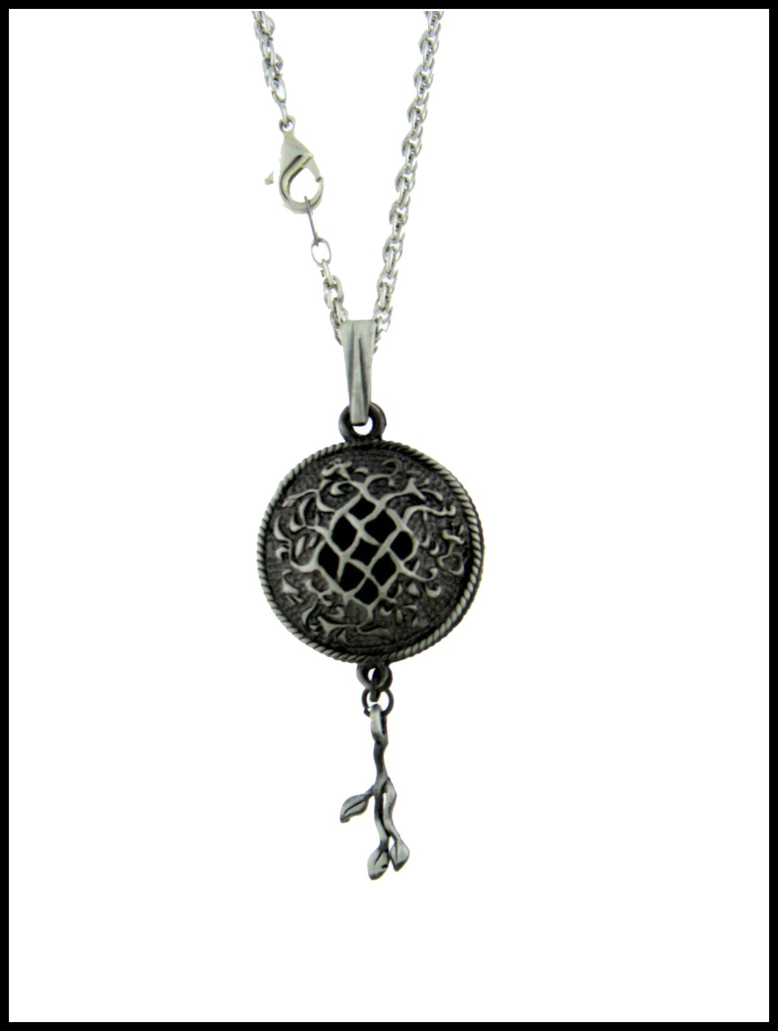 Celtic Vine Essential Oil Diffuser Necklace Aromatherapy