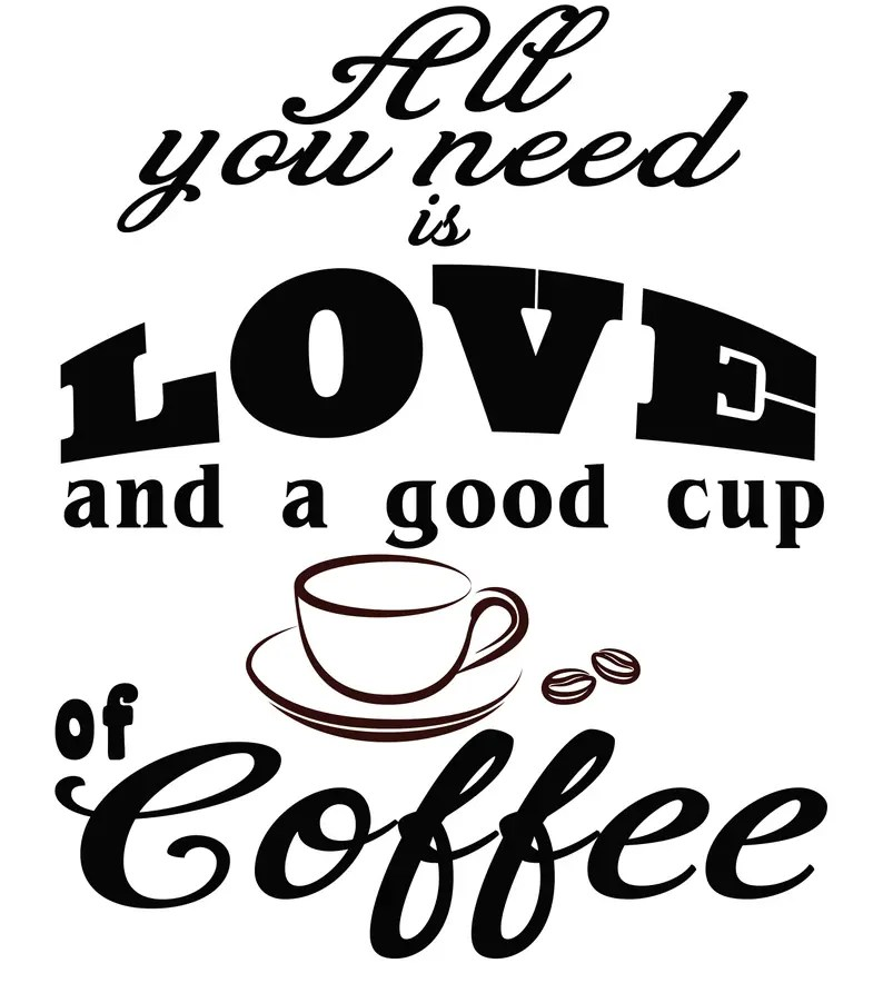 Download All You Need is Love and a Good Cup of Coffee SVG File | Etsy