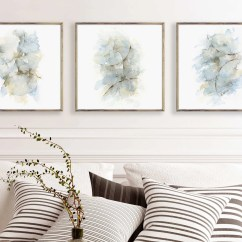 Living Room Art Wall Ideas For With Tv Etsy Square Print Set Of 3 Prints Abstract Watercolor Painting Piece Decor Bedroom Dining