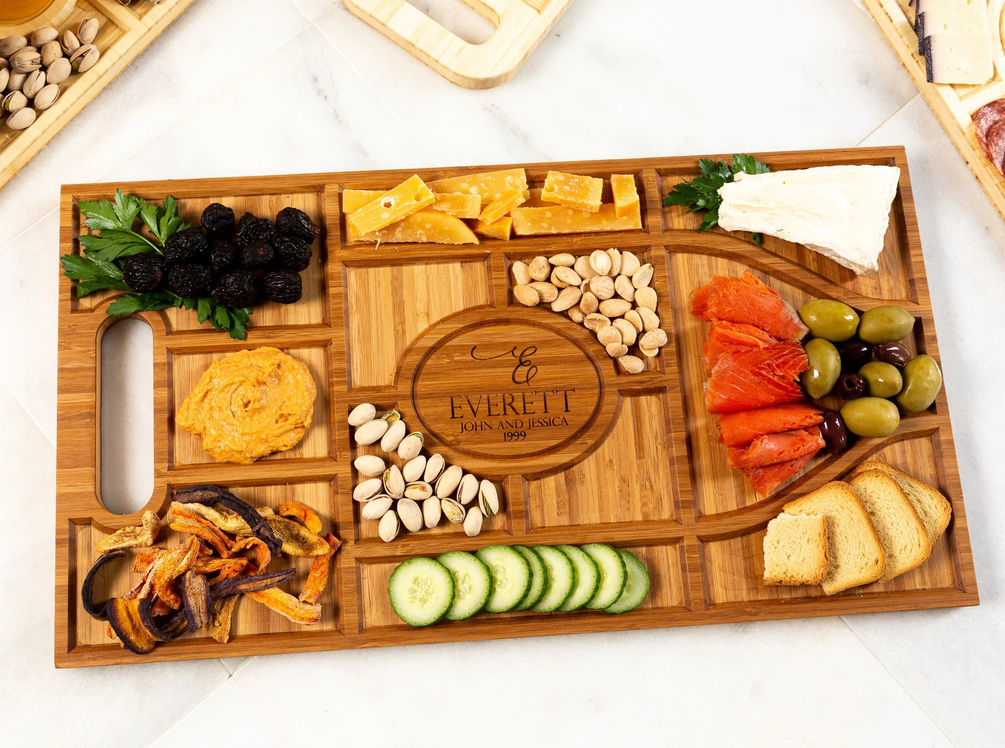 Personalized Charcuterie Planks and Beer Flights  4 Styles image 5