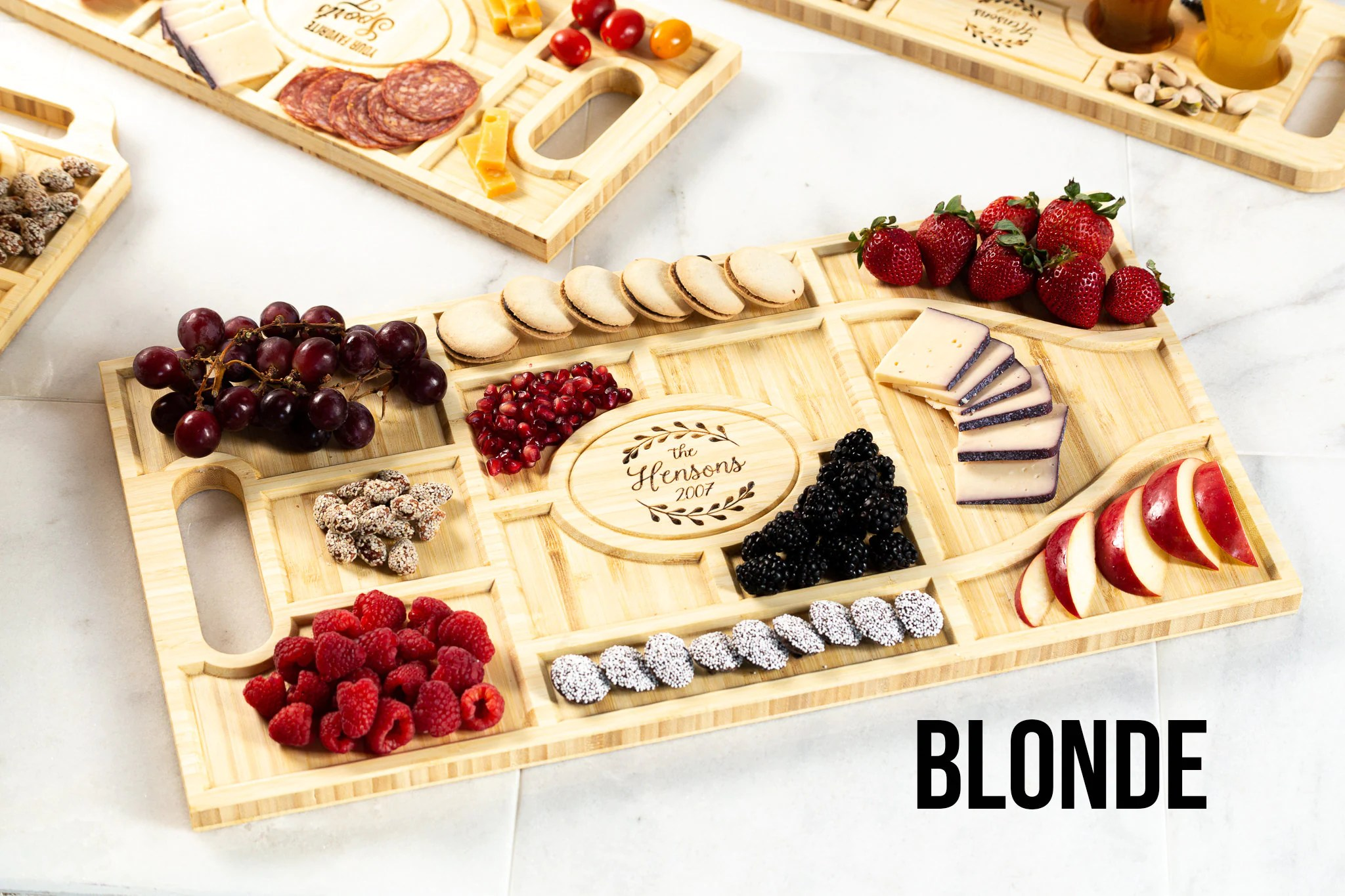 Personalized Charcuterie Planks and Beer Flights  4 Styles image 7