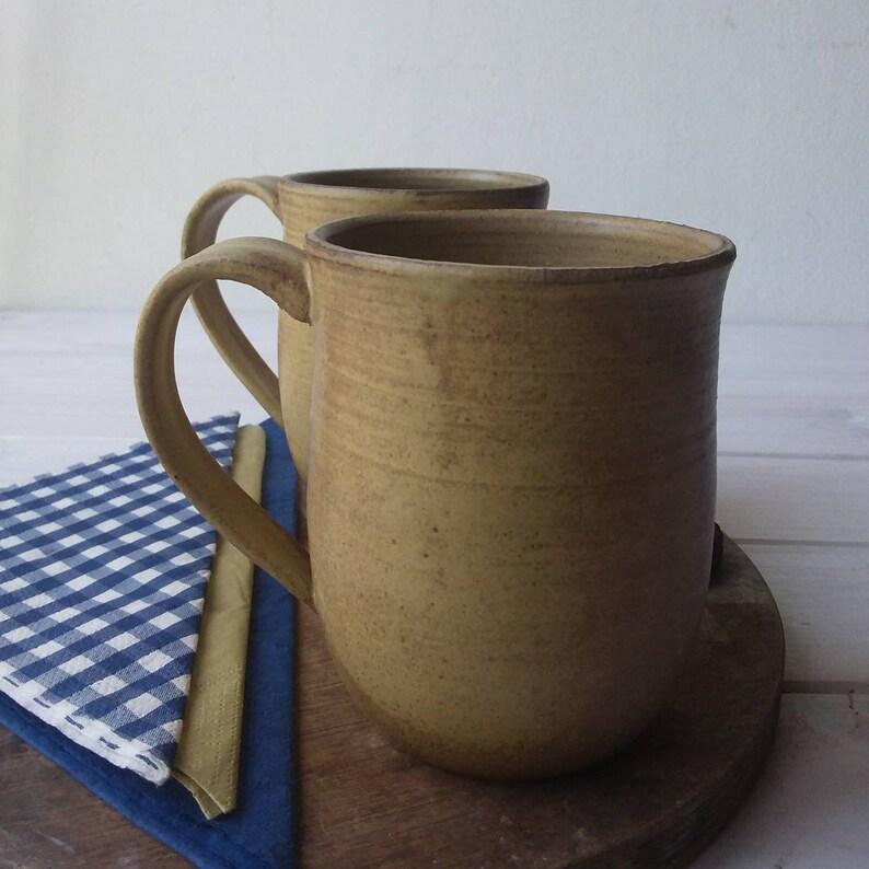ceramic mug 16oz pottery