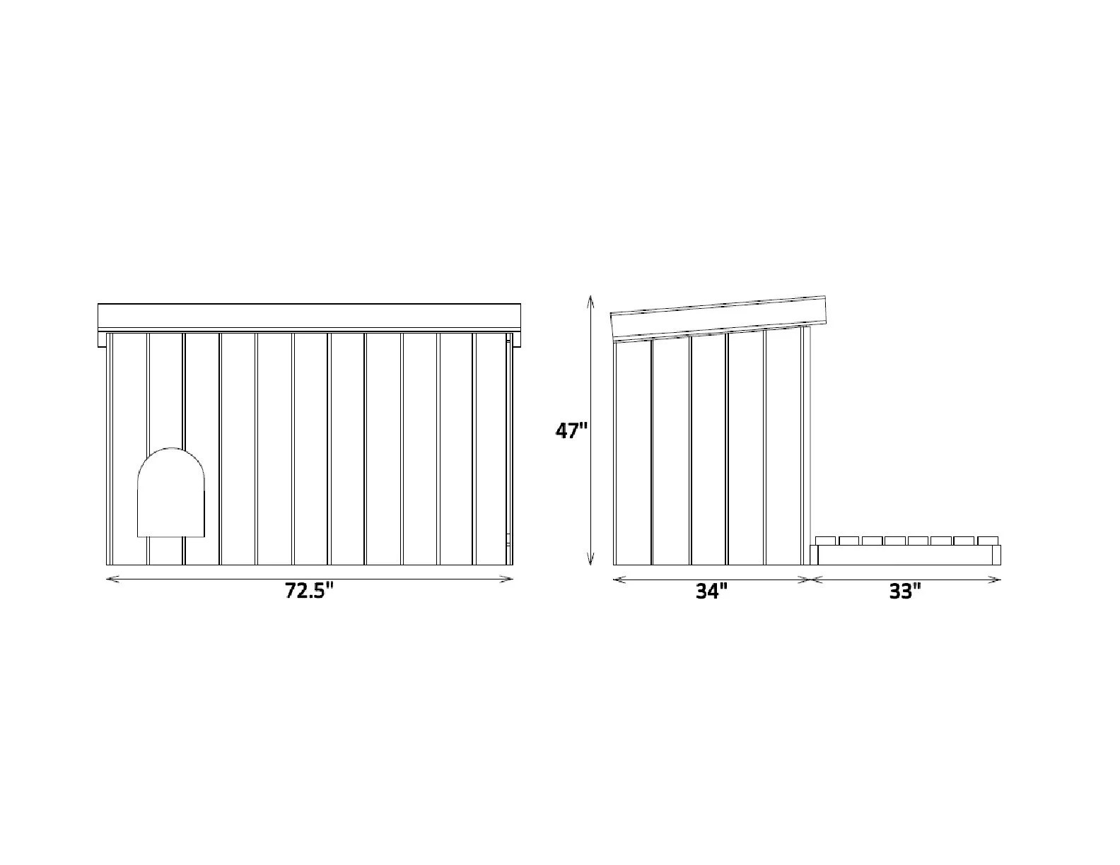 Large Outdoor Dog House Plans Diy Wooden Doghouse Pet