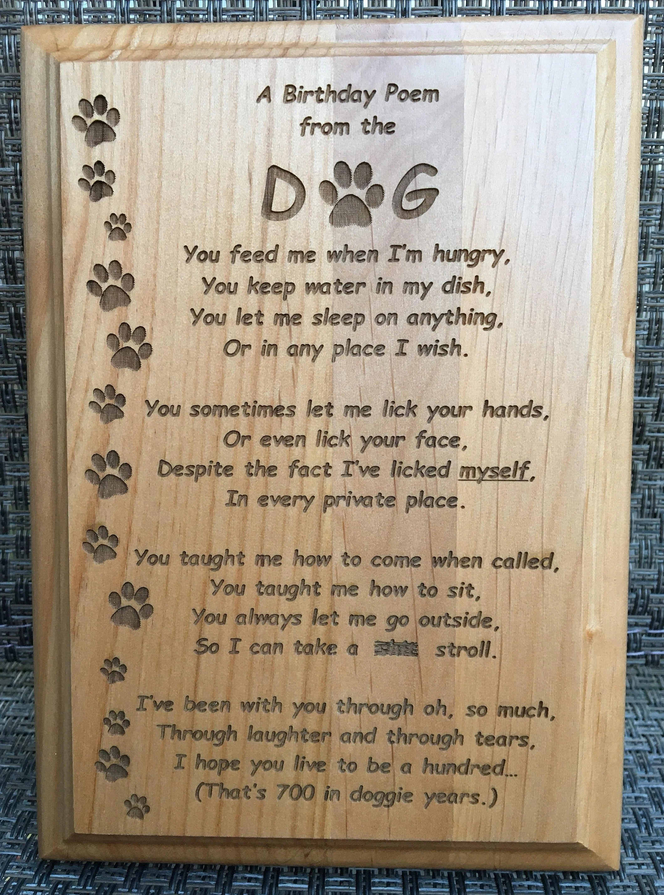 customized wood plaque a