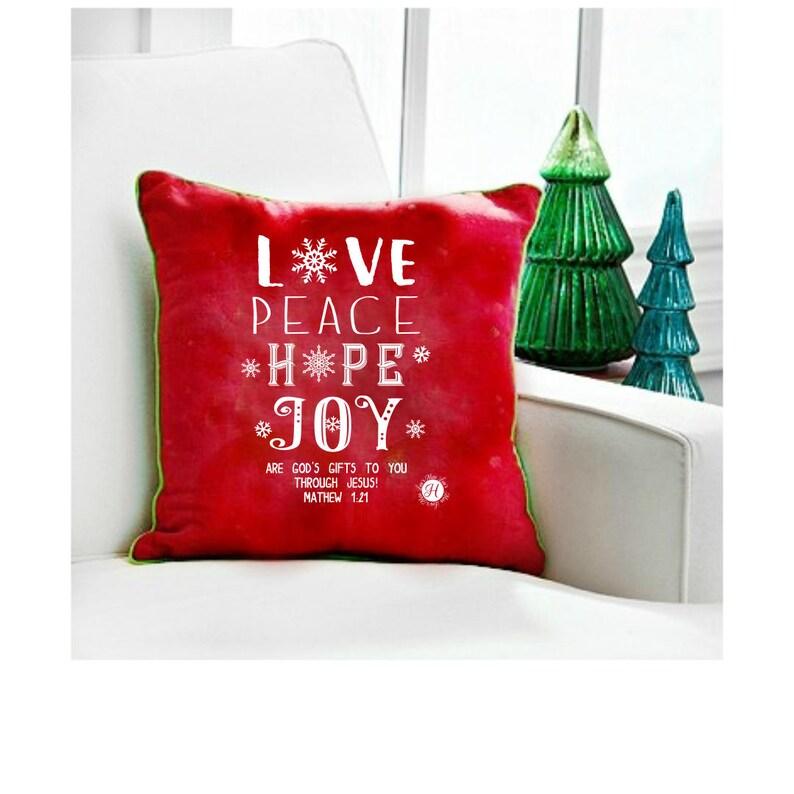 Download Christmas svg Love peace hope joy scripture Mathew 1:21 ...