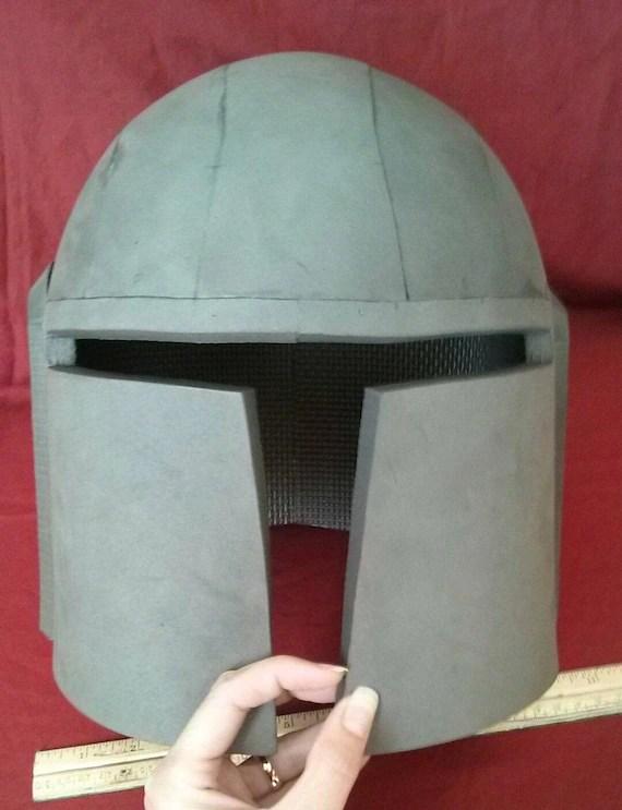 Foam Helmet Pattern : helmet, pattern, Pattern:, Simple, Mandalorian, Style, Helmet, Template
