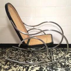 Rocking Chair Cane Rentals Jacksonville Fl Etsy Vintage Marcel Breuer Chrome And Mid Century Modern Mod Ships Greyhound Bus
