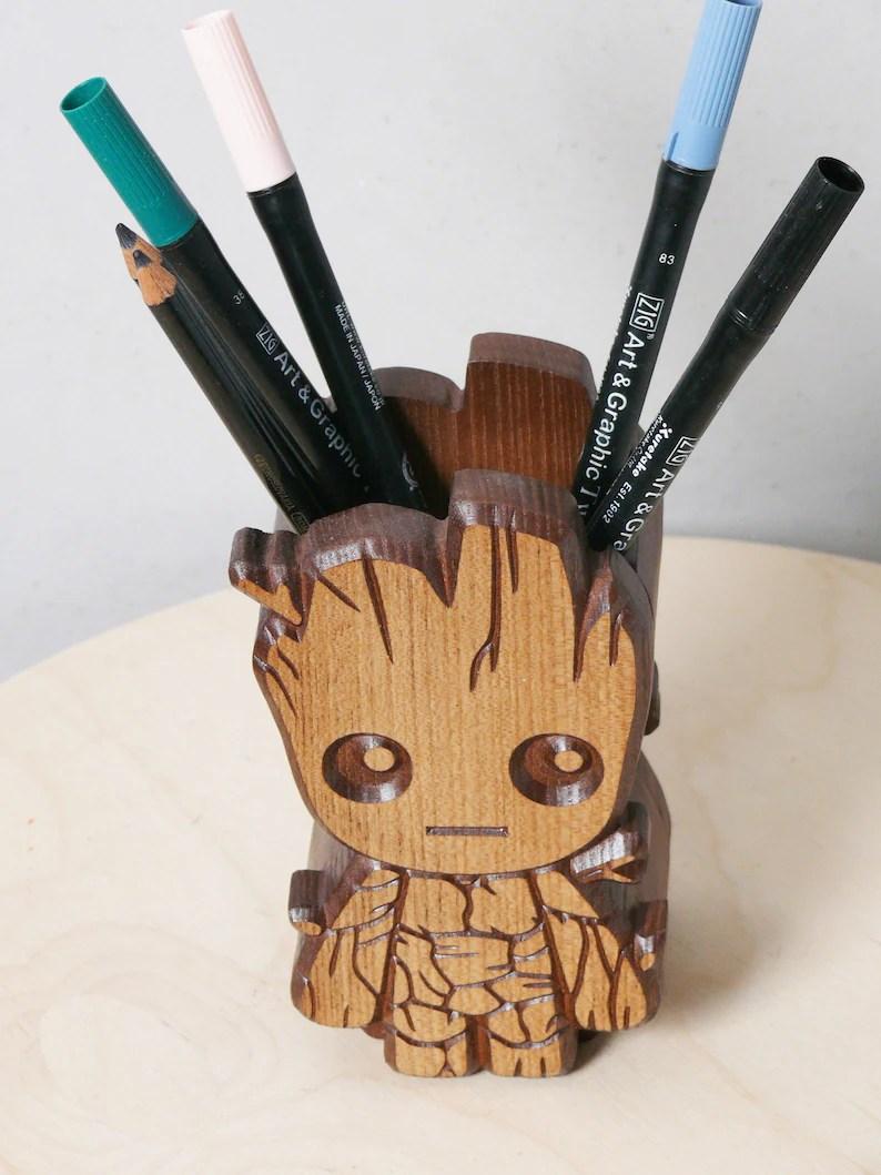Baby Groot Pen Stand