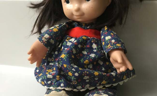 Vintage 1973 Fisher Price Lapsitter Doll 201 Jenny Etsy