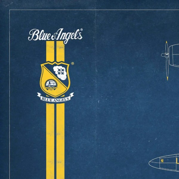 Blue Angels Chronology Print - Limited Edition