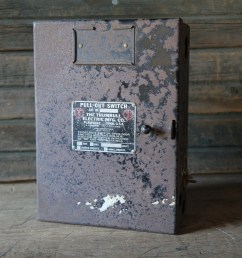 trumbull electric fuse box etsyold black fuse box 7 [ 3000 x 2000 Pixel ]