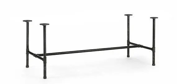 Industrial Black Iron Pipe Table Base/Table Frame/ Table