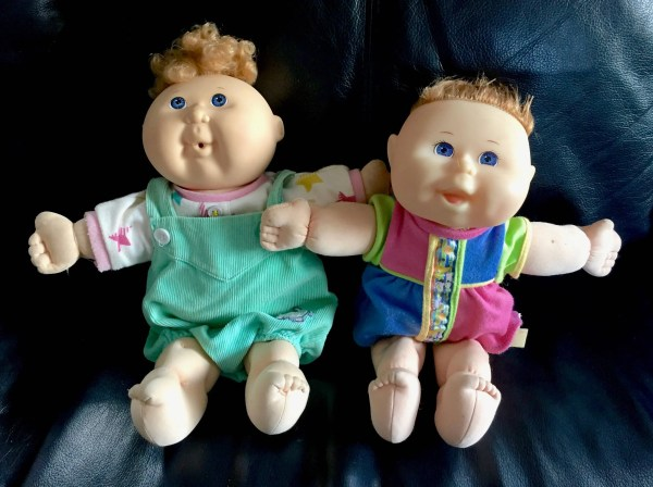 Vintage 90s Cabbage Patch Kids Baby Dolls Babies Lot 1992