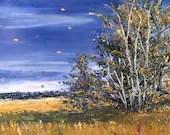 Sunshine Blowing - Canvas...