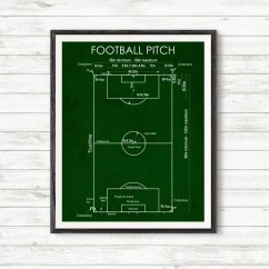 Football Pitch Diagram To Print Painless Wiring Installation Instructions Pitchsoccer Printsoccer Postersport Decorhome Etsy Image 0
