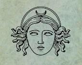 Selene Goddess of the Moo...