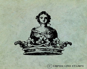 Woman in a Crown - Antiqu...