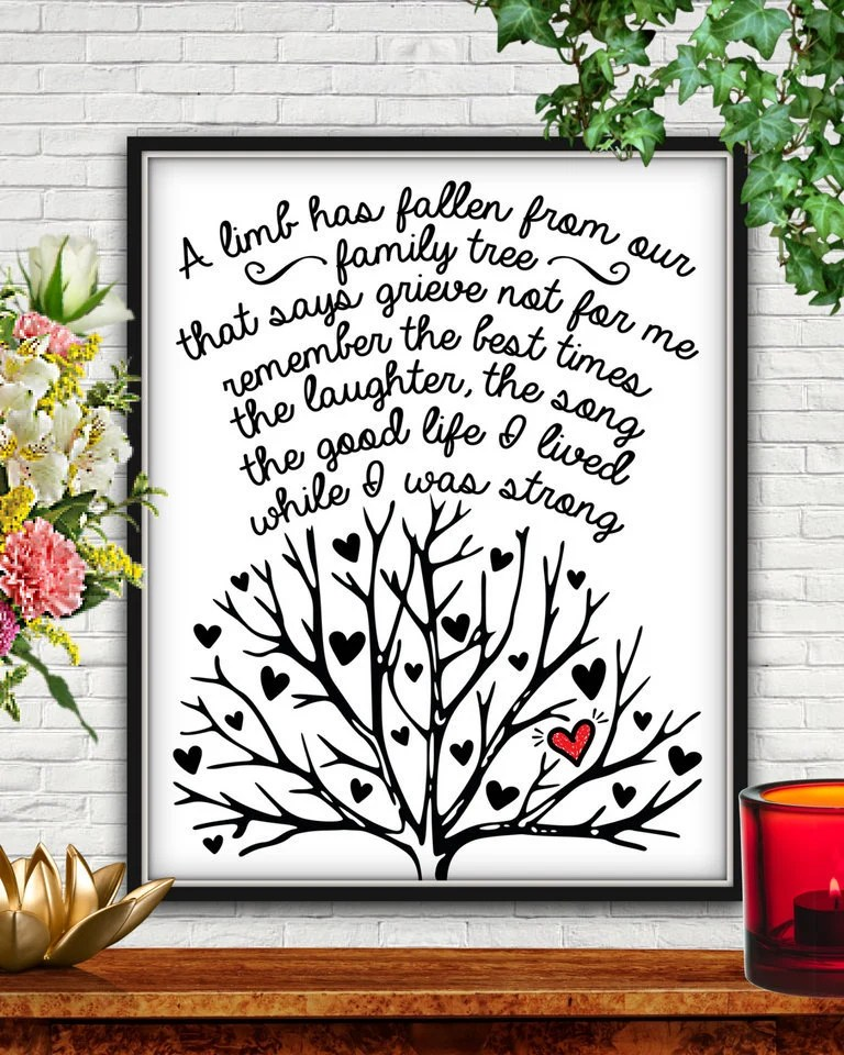 A Limb Has Fallen From The Family Tree : fallen, family, Fallen, Family