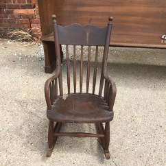 Antique Wooden Rocking Chairs Jrc Fishing Chair Accessories Etsy