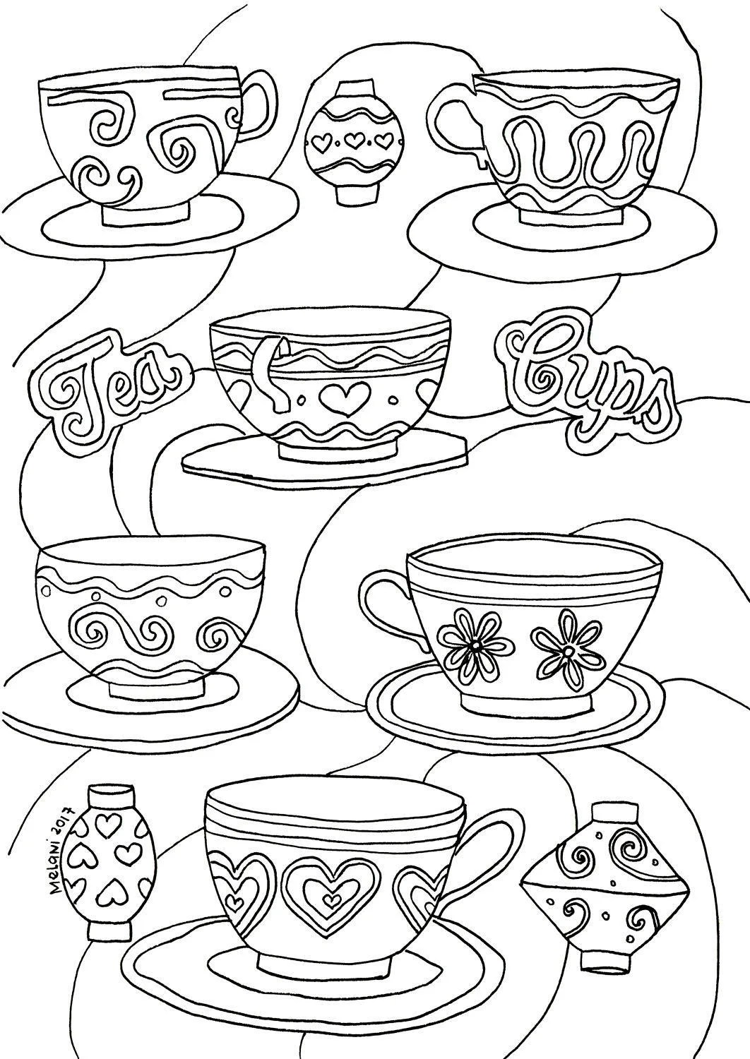 Disney inspired Disney Coloring Page Downlaod Mad Hatters