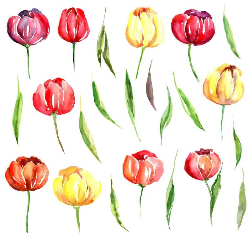 Clipart Gratuit Fleurs De Printemps