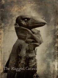 Victorian gothic vintage raven print 5x7 gothic art crow Etsy
