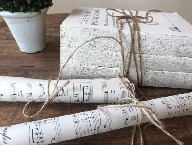 scrolls in bulk decorative