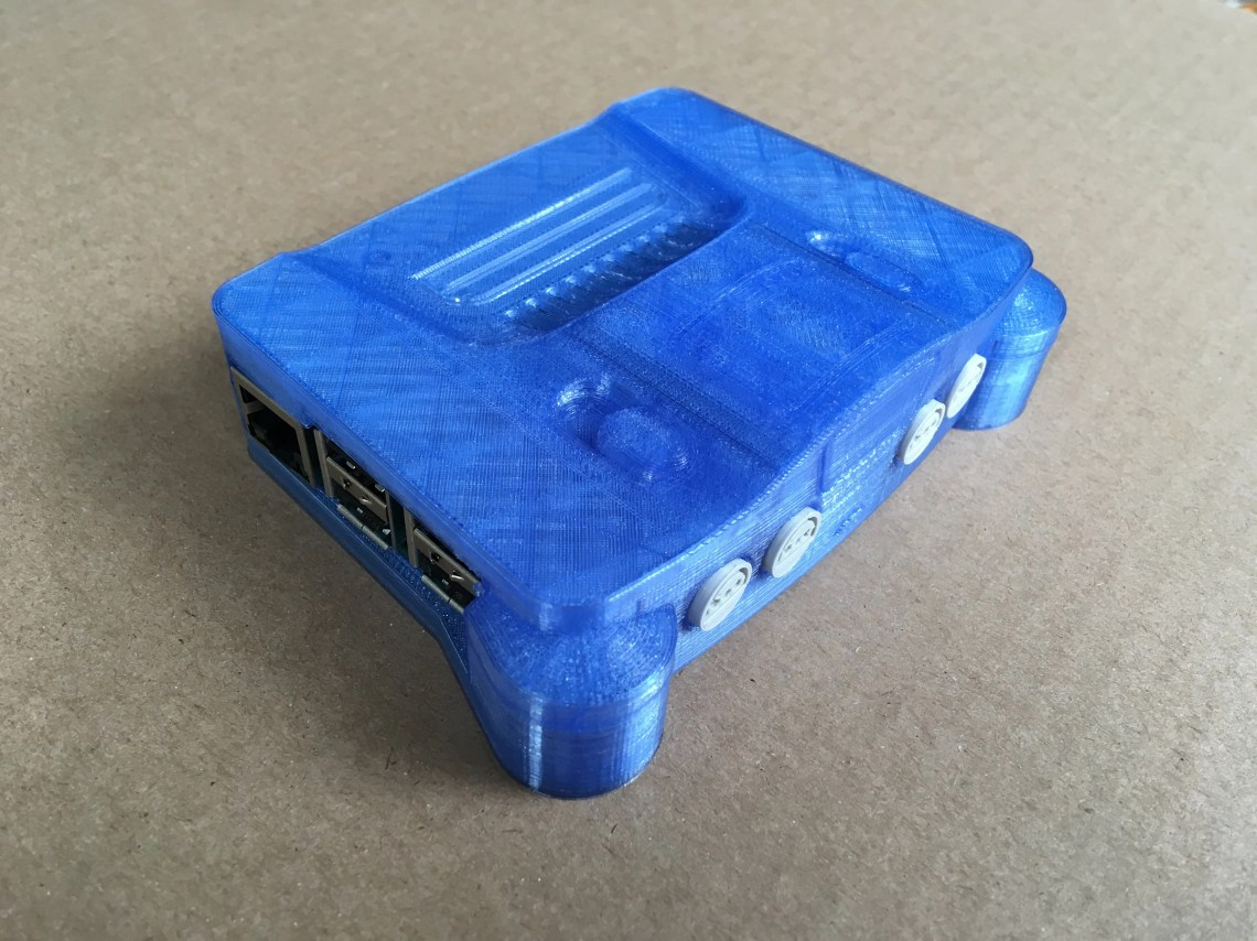 Nintendo 64 case for Rasp...