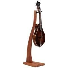 wooden mandolin stand cherry