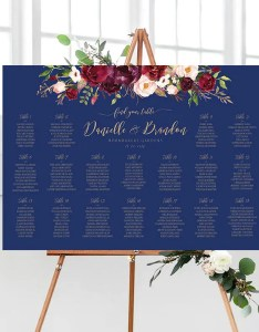 Image also rush service wedding seating chart etsy rh