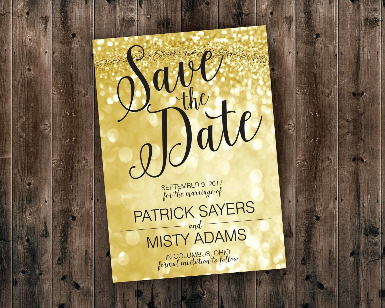 cheap save the date