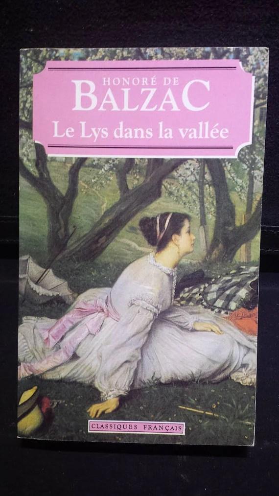 Balzac Le Lys Dans La Vallée : balzac, vallée, Vallee, Honore, Balzac
