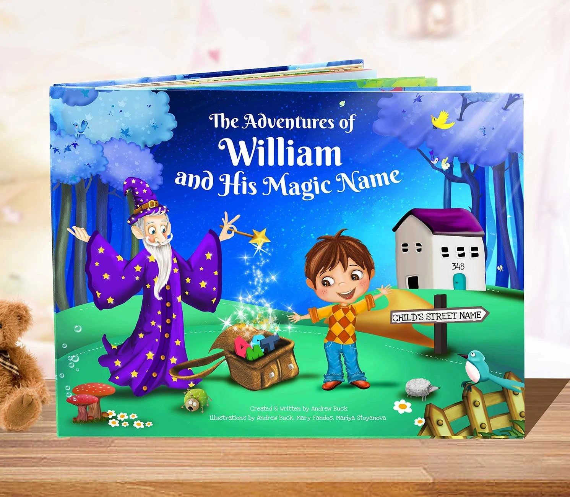 personalised books for children
