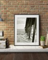 Red Brick Wall Frame Mockup Styled Stock Photography Frame Etsy
